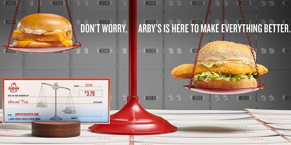 Arbys Fish Check Sweepstakes