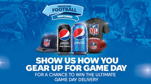 Pepsi Made For Football Watching Sweepstakes
